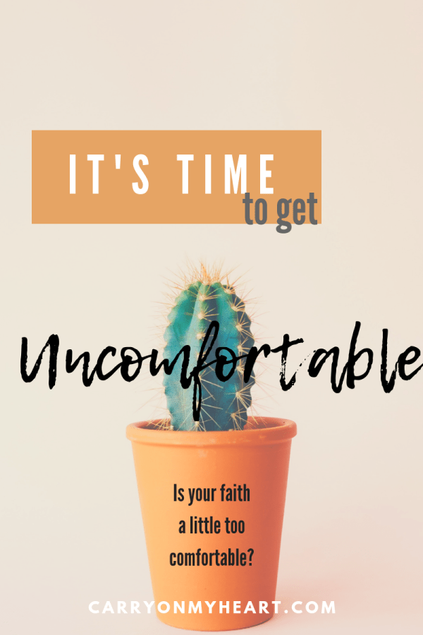 Why It's Time to Get Uncomfortable