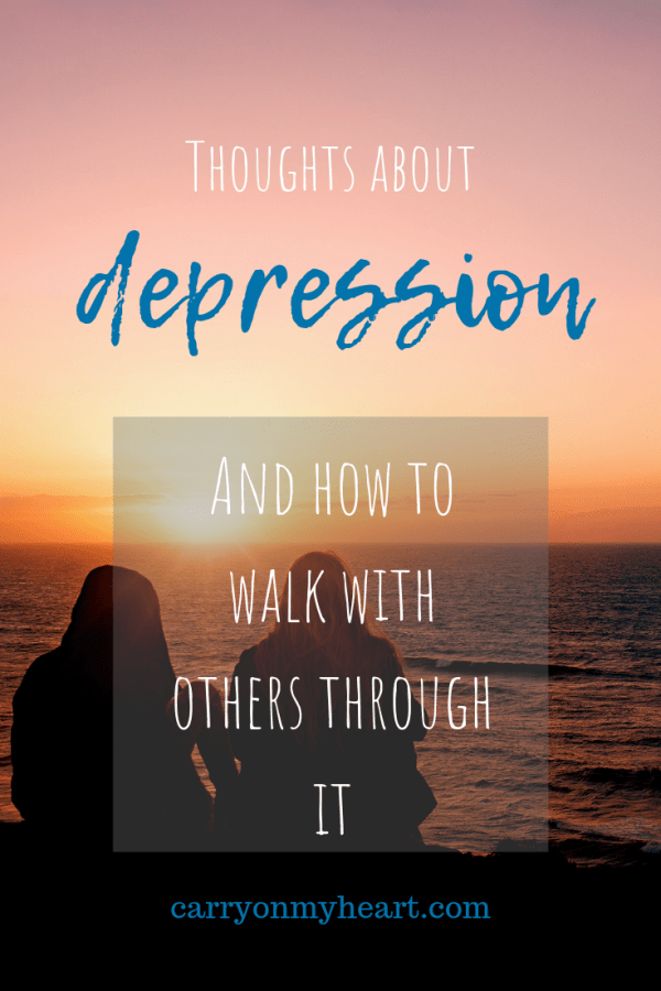Thoughts on depression…