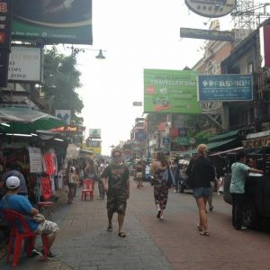 Chatuchak Road Markets in Bangkok