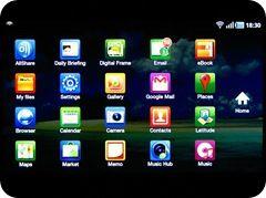Applications Screen