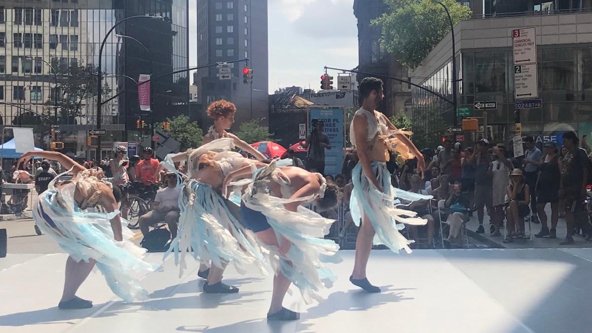 Artichoke Dance at Summer Streets