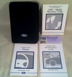 2000 ford focus owners guide warranty guide scheduled maintenance guide  [ 1280 x 1024 Pixel ]