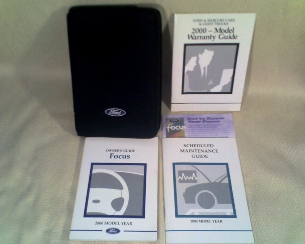 medium resolution of 2000 ford focus owners guide warranty guide scheduled maintenance guide