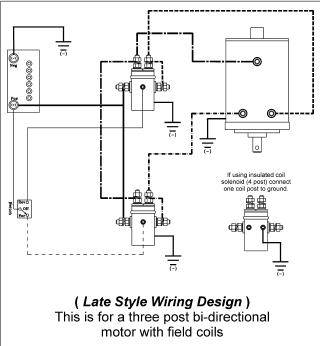 Where To Find Ramsey Bidirectional Winch Motor Wiring Diagram