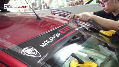 Photo of Proton Ertiga Windscreen Replacement With Insurance Claim Service In Klang