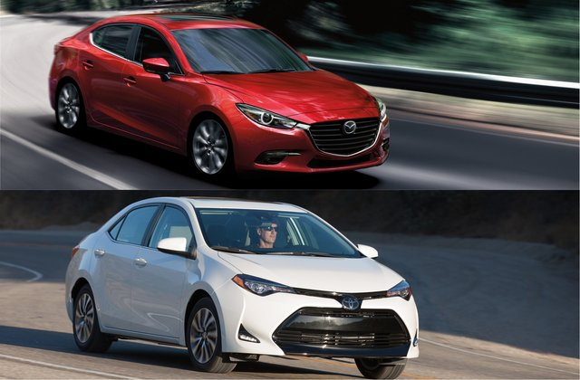 2018 Mazda3 Vs 2018 Toyota Corolla Head To Head U S News Amp World Report