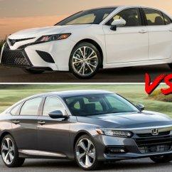 All New Camry Vs Accord Grand Avanza E 1.3 2019 Toyota Honda Head To U S News World Report
