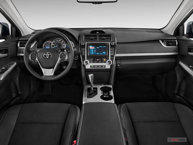 2012 Toyota Camry Interior U S News Amp World Report