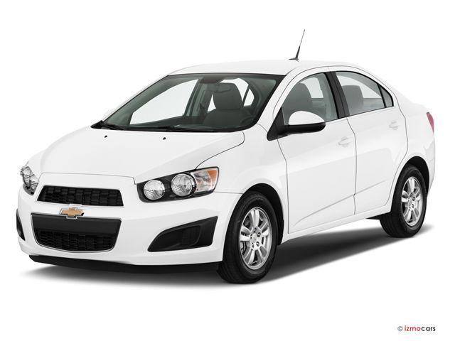 2013 Chevy Sonic Hatchback White
