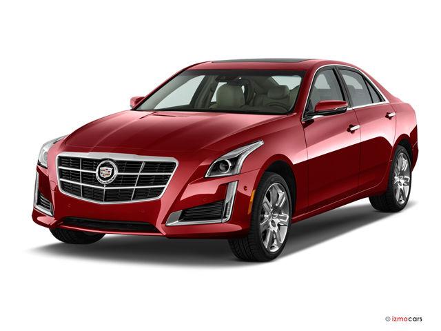 2016 Cadillac Cts Sedan Red