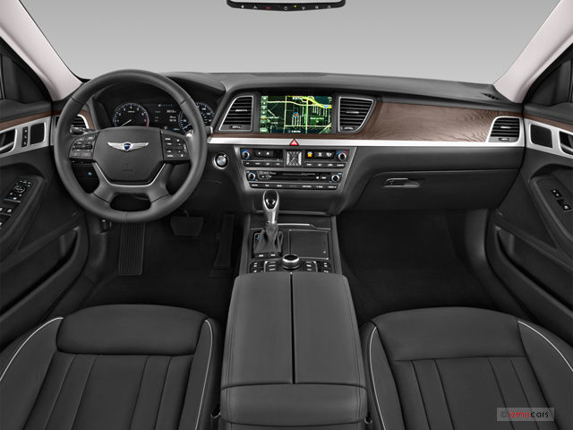 2016 Hyundai Genesis Interior US News Amp World Report