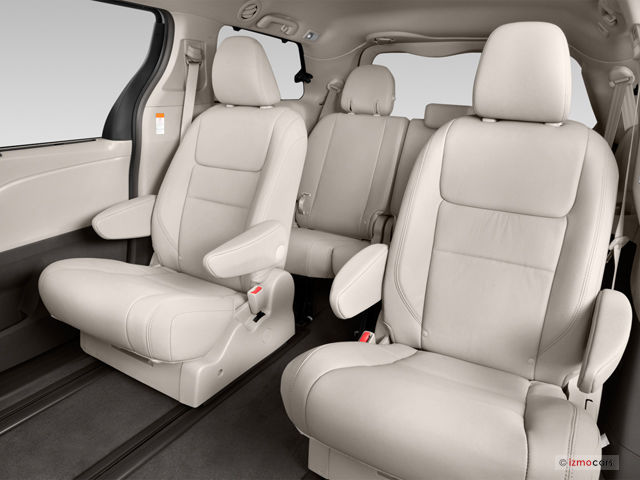 2016 Toyota Sienna Interior  US News  World Report