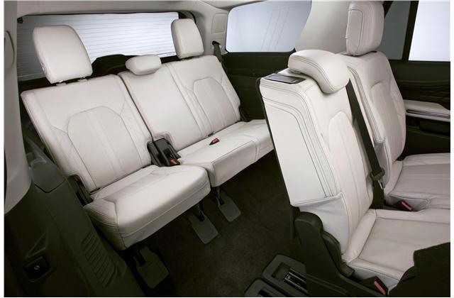 suv with 3 rows and captains chairs folding rocker lawn chair best row suvs photos details u s news world report