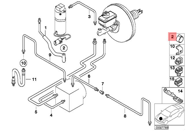 Genuine Fuel Hose Clamp x5 pcs BMW Alpina X5 Z8 V8 E32 E34