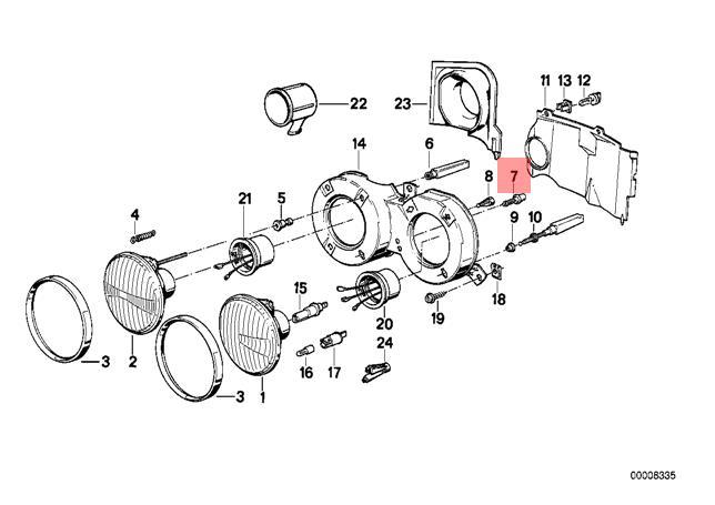 Wiring Database 2020: 30 Bmw E30 Parts Diagram