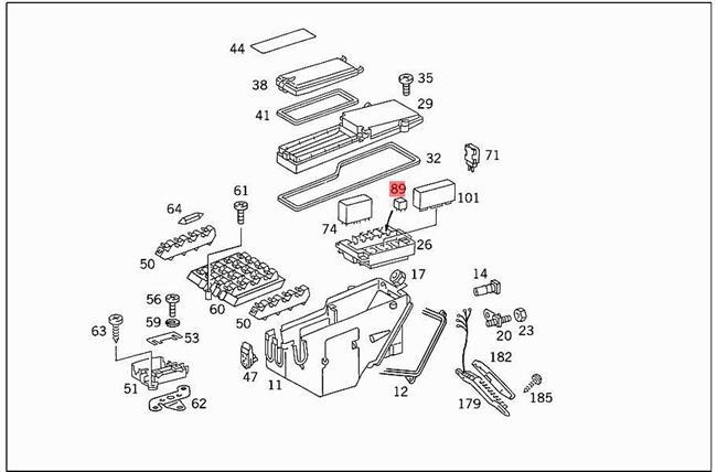 Genuine Relay MERCEDES 190 C123 C124 S123 S124 W123 W124