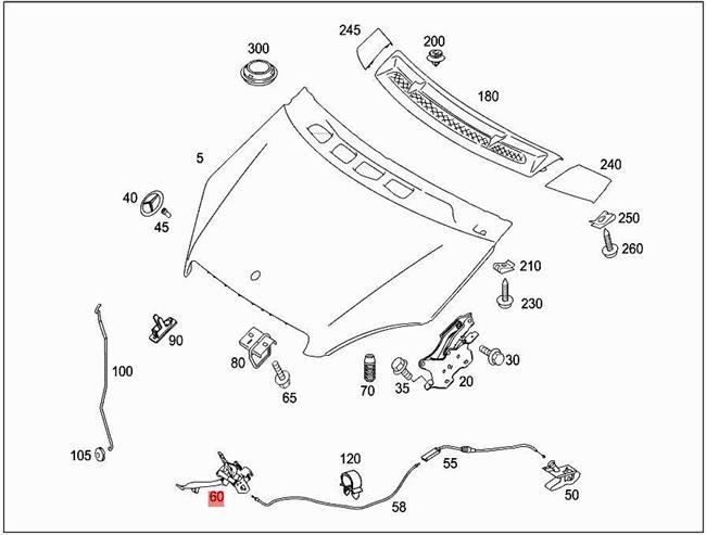 Bonnets & Parts Genuine MERCEDES W169 W245 Hatchback