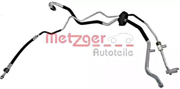 METZGER AC High Low Pressure Line Hose For AUDI VW A4