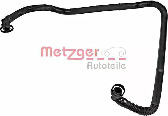 METZGER Crankcase Breather Hose For AUDI VW SKODA A4 Avant