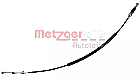 METZGER Manual Transmission Cable Left For FIAT Seicento