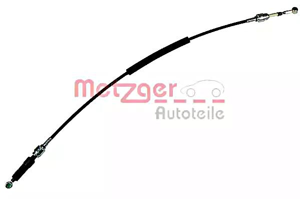 METZGER Manual Transmission Cable Right For FIAT Seicento