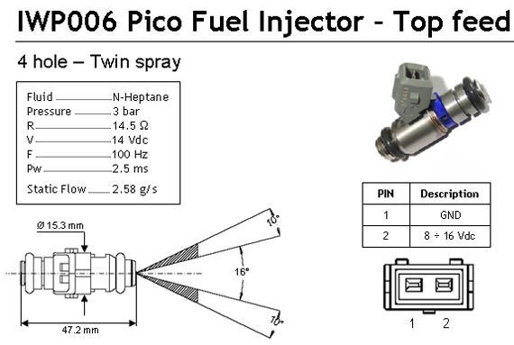 Citroen Saxo 1.6 VTS Peugeot 106 1.6 S16 Fuel Injector MPI