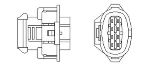 Oxygen Sensor Fits OPEL Corsa Vita Hatchback VAUXHALL 1.0L