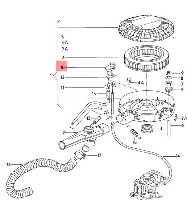 Genuine Temperature Regulator VW AUDI SEAT 50 Dasher Golf