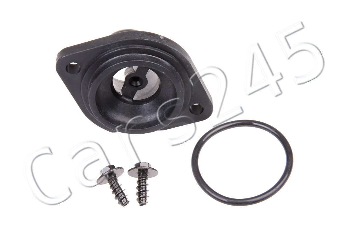 hight resolution of details about seat ibiza cordoba arosa skoda vw caddy engine coolant hose flange 1 1 6l 91 10