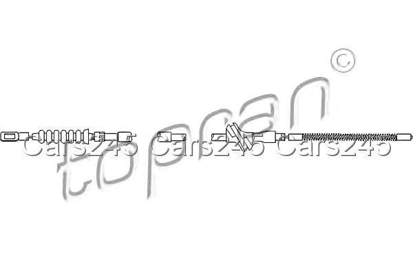 AUDI 100 Wagon 4A C4 Rear Parking Hand Brake Cable 90-94