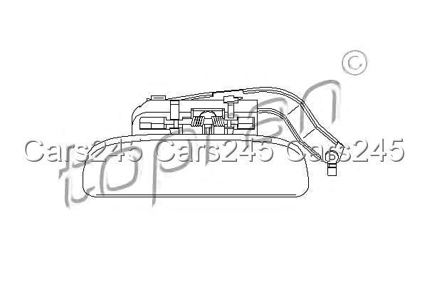 Citroen Saxo Peugeot 106 II 2 Left Front Door Handle 1.0-1