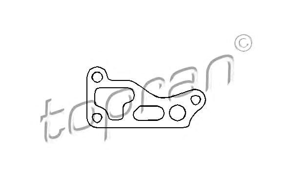 Seal Gasket for oil filter housing Fits AUDI SEAT SKODA VW