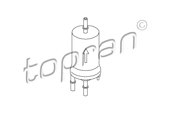 Fuel Filter With Pressure Regulator Fits AUDI SEAT SKODA