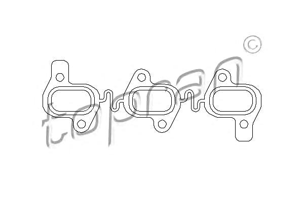 Seal Gasket for exhaust manifold Fits AUDI A4 A5 A6