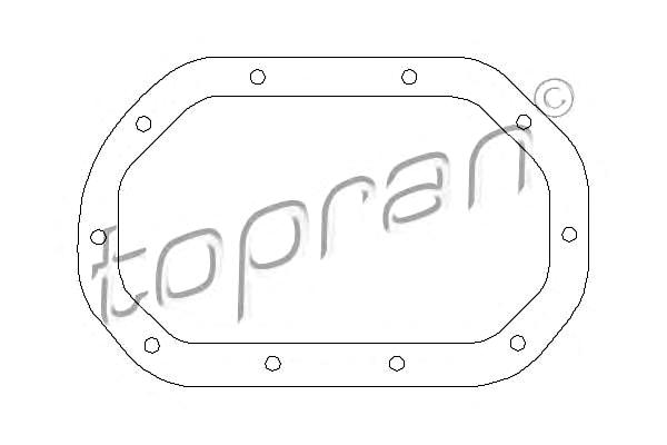 Seal Gasket for differential Fits OPEL Ascona Astra Kadett