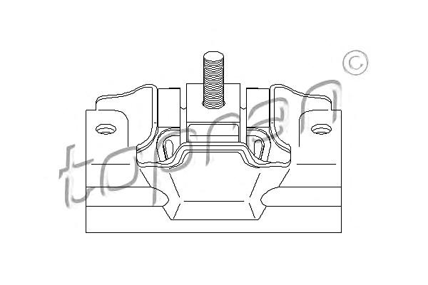 vorne Motor Lagerung für CITROEN Jumper Relay Bus PEUGEOT