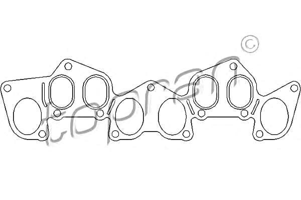 Seal Gasket for intake manifold Fits CITROEN Jumper