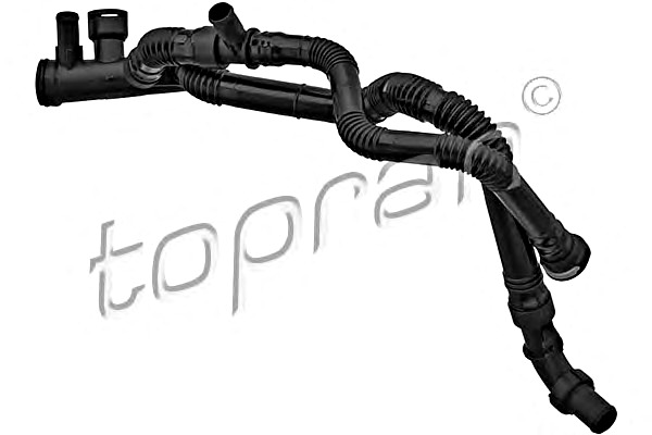 Engine Coolant Water Pipe Fits CITROEN C3 FORD Fiesta
