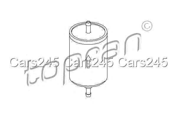Inline Fuel Filter Fits AUDI CITROEN PEUGEOT 806 SEAT