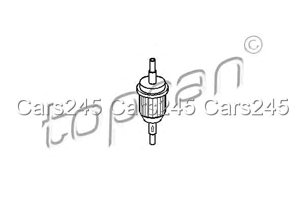 Inline Fuel Filter Fits AUDI 100 44 C3 43 C2 VW Golf I