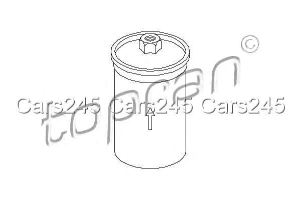 Inline Fuel Filter Fits AUDI 80 100 5000 A6 C4 C3 SEAT VW