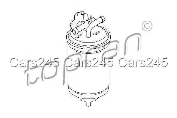 Inline Fuel Filter Fits SEAT Arosa VW Polo Lupo 1.2-1.9L