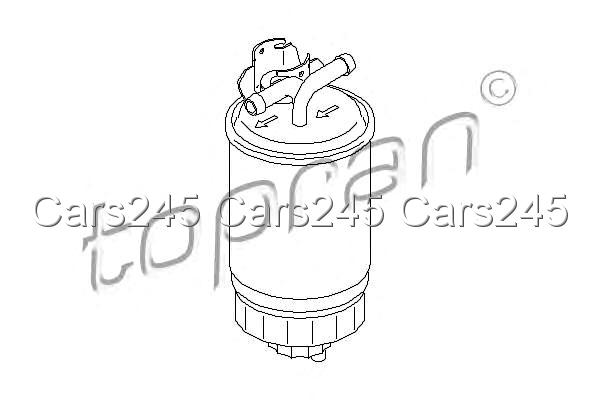 Inline Fuel Filter Fits FORD Galaxy SEAT Alhambra VW