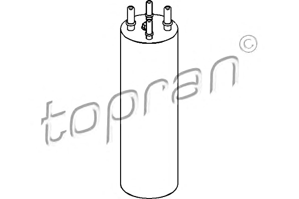 TP Fuel Filter Fits VW Multivan T5 Touareg Transporter