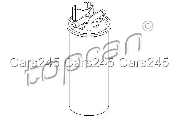 Inline Fuel Filter Fits AUDI A6 C6 2.7-3.0L 2004-2011 4F0