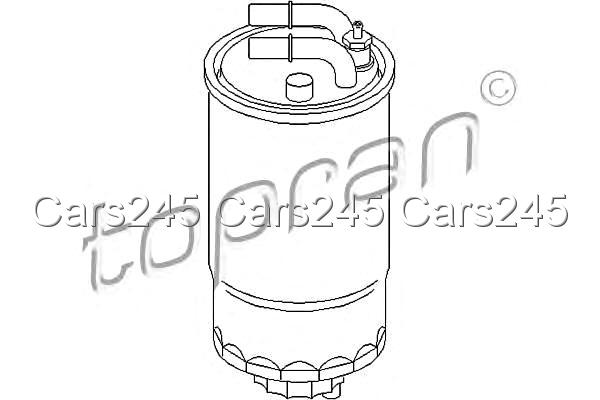 Inline Fuel Filter Fits OPEL Corsa D 1.3L 2006- 08 13 059