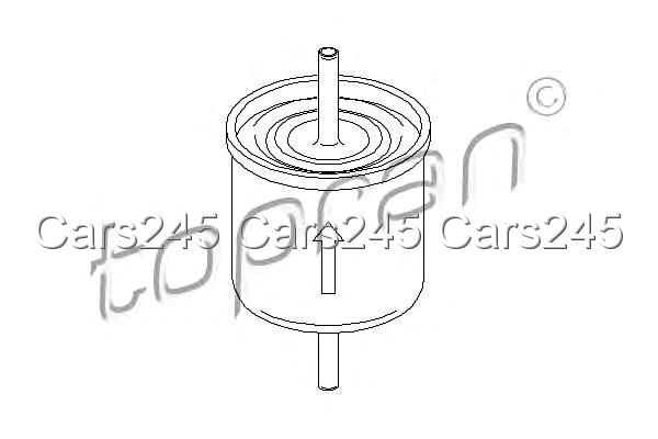 Inline Fuel Filter Fits FORD Ka Escort V Classic Courier 1