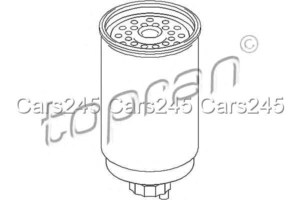 Fuel Filter Fits FORD Transit Flatbed Chassis E 2.5L 1985
