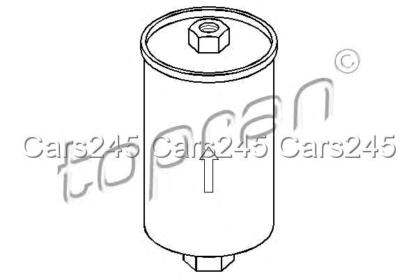 Inline Fuel Filter Fits FORD Escort IV Granda Courier