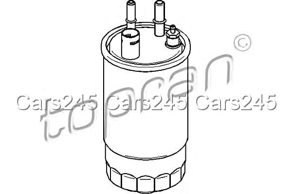 Inline Fuel Filter Fits FORD Ka RU8 1.3L 2008- 1 542 785